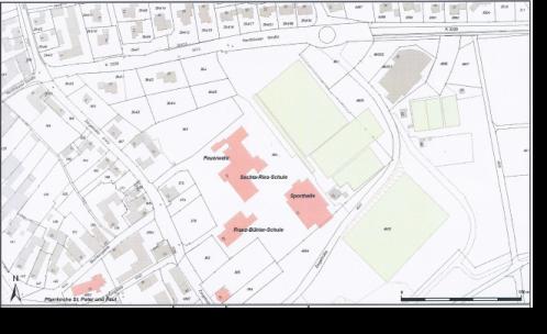 Lageplan der Lina- Hähnle- Schule